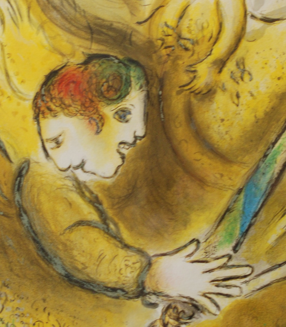 "Marc Chagall, 1887-1985  ""The Angel of Judgement"" (detail)"