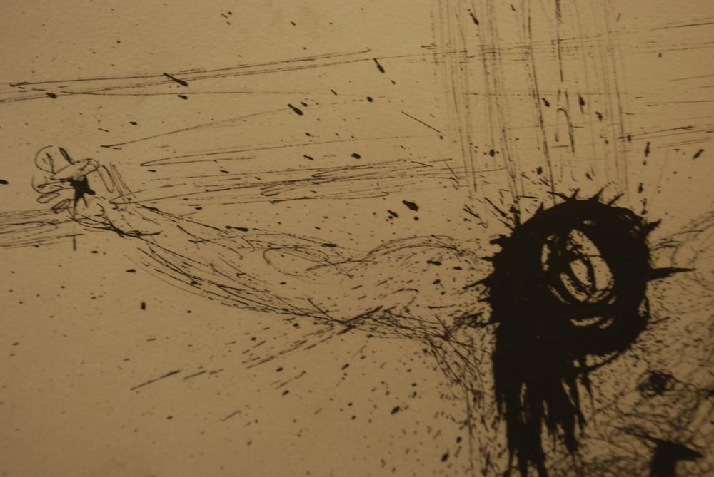 """Salvador Dali, 1904-1989  """"Le Christ"""" (detail)"""