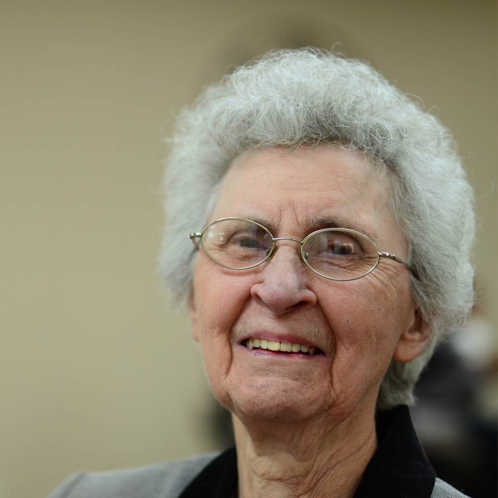 Helen Greene (one of our elders)