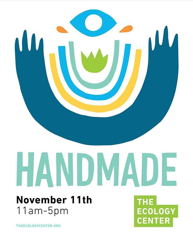 Hey friends! We will be sampling at the annual @theecologycenter Handmade Makers Market today which means we won't be at the Irvine Farmers Market. Come hang out with us and 40 other local artisans and get in some early Christmas shopping! ❣️
