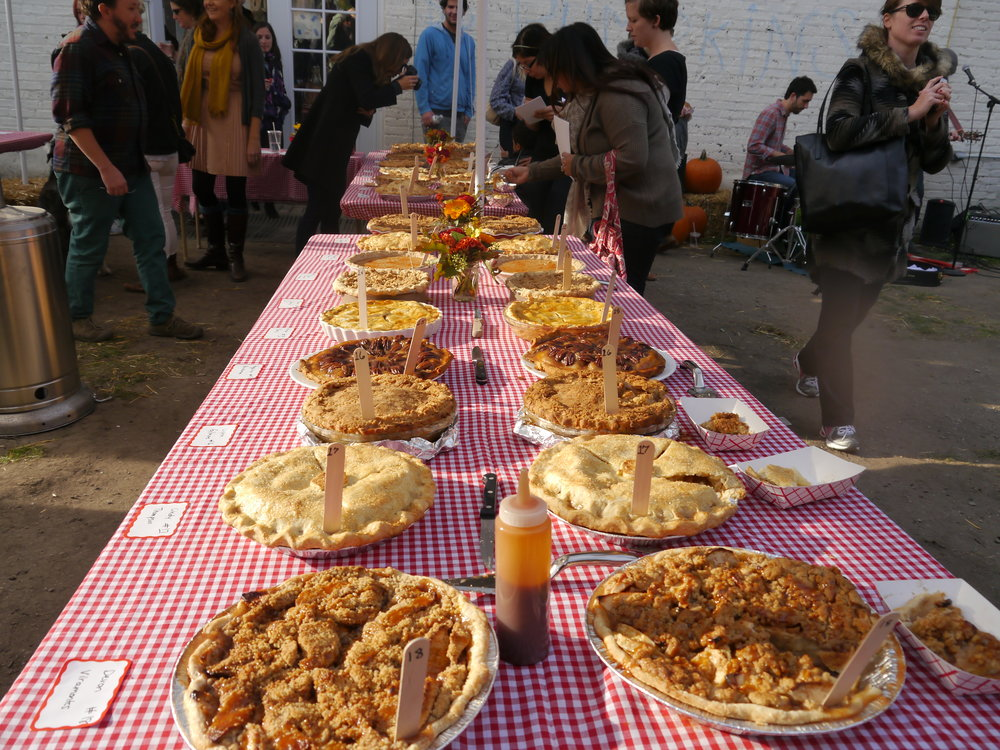 Apple Pie Contest at !BANG! BANG Pie Shop in Logan Square, Chicago