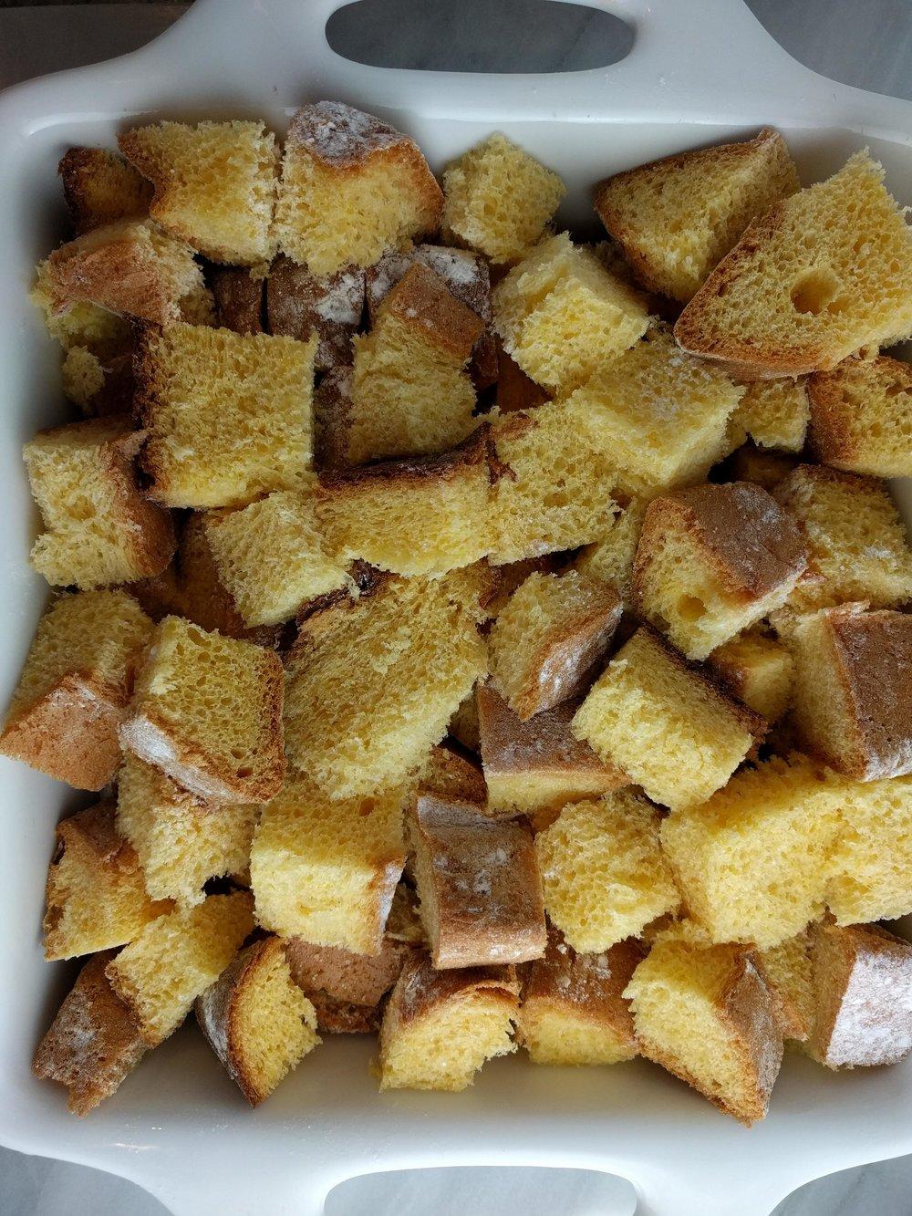 cake cubes