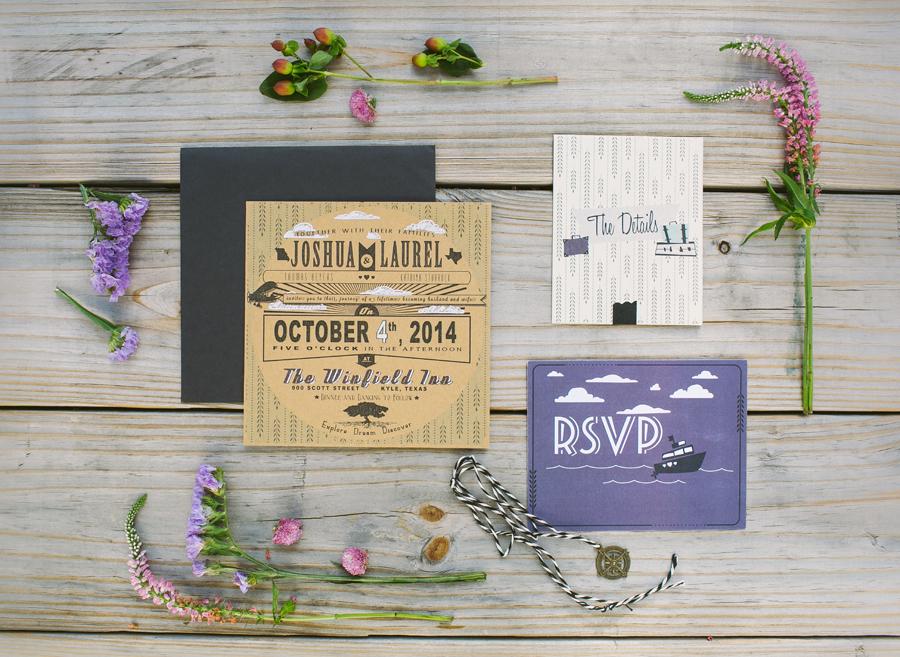 Travel Themed Wedding Laurel Beyers
