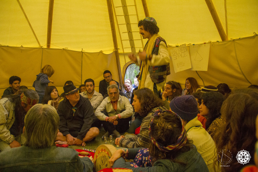 Tipi Project Opening - May 29th, 2014