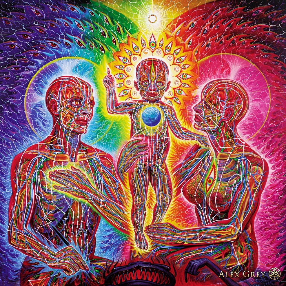 Art Work By Alex Grey -  cosm.org