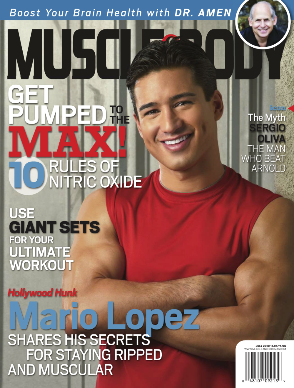 MUSCLE & BODY • JULY 2010