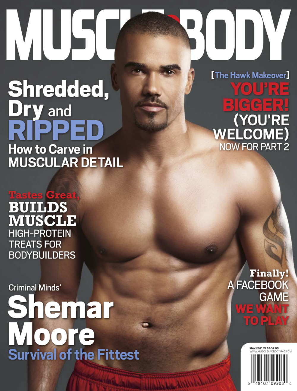 MUSCLE & BODY • MAY 2011