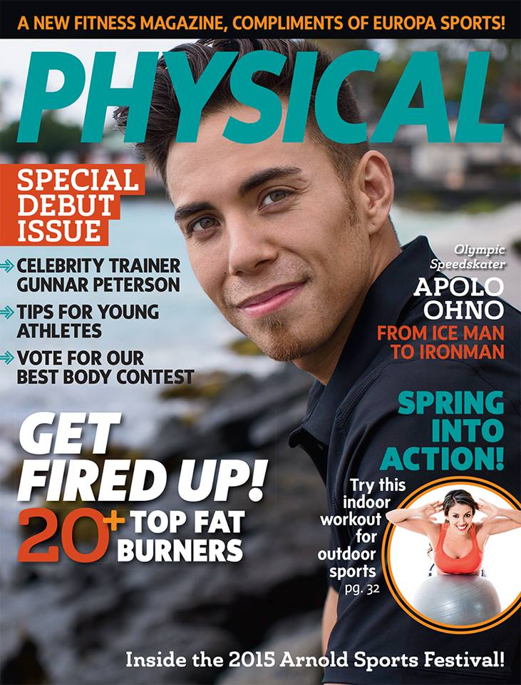 APOLO OHNO COVER STORY • MARCH 2015
