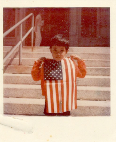 Flag Day at the courthouse in Missoula, Montana, 1976. Photo credit: Bryan Thao Worra.