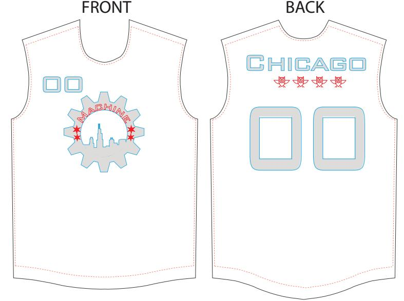White Jersey Submission by Will Mims