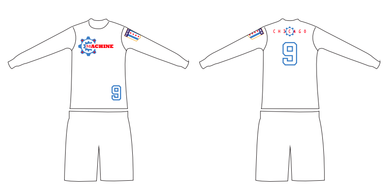 White Jersey Submission by Joe Simonelli