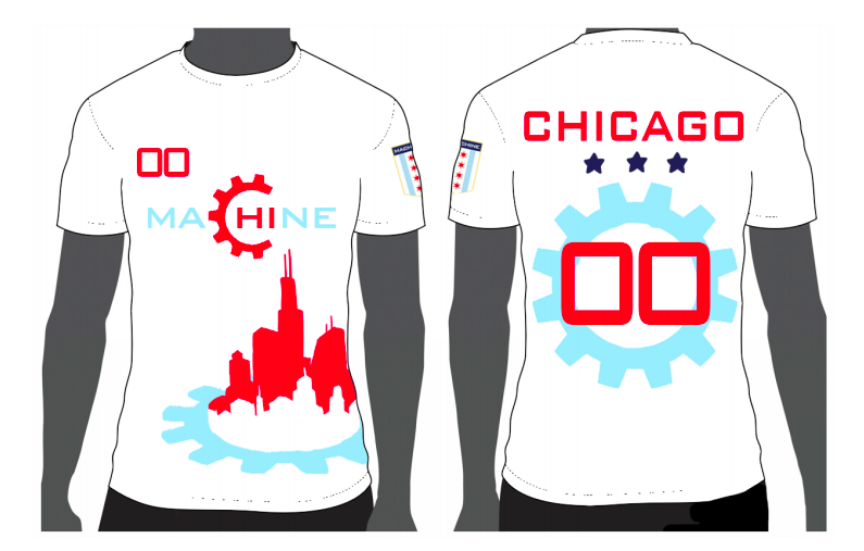 Jersey Design by Lucia Wei