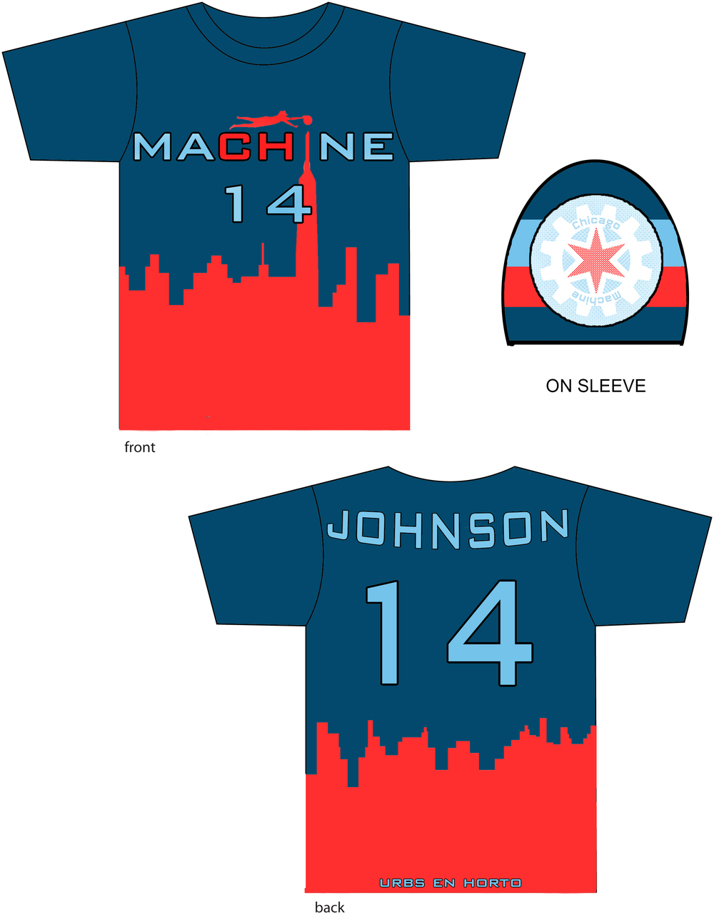 Jersey Design by Ben Priess