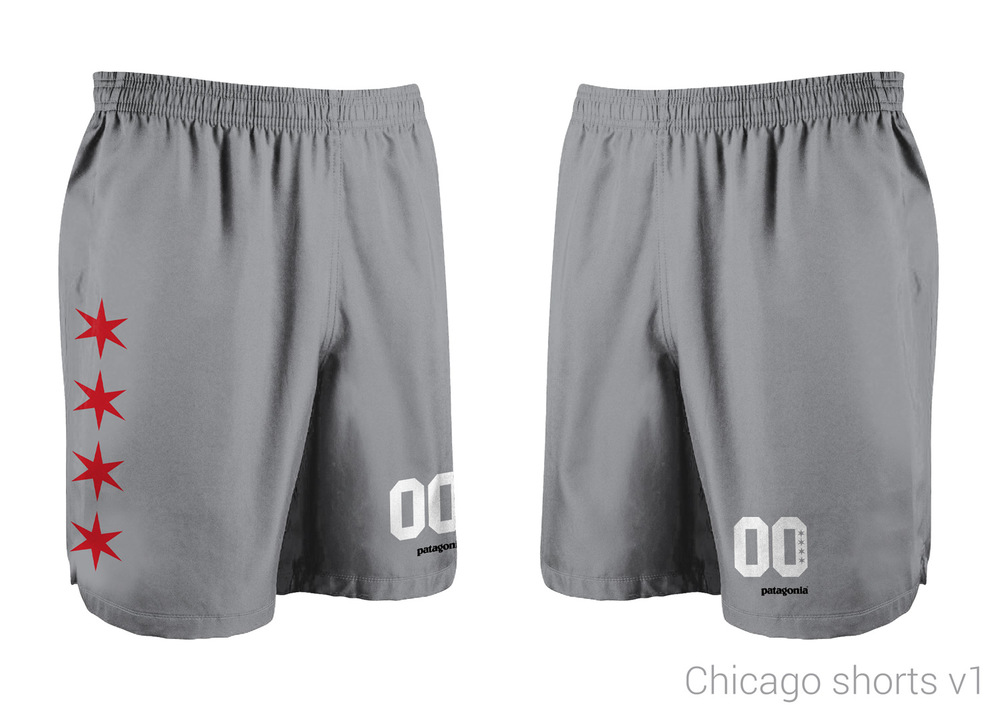 Shorts Design by Richard Taylor