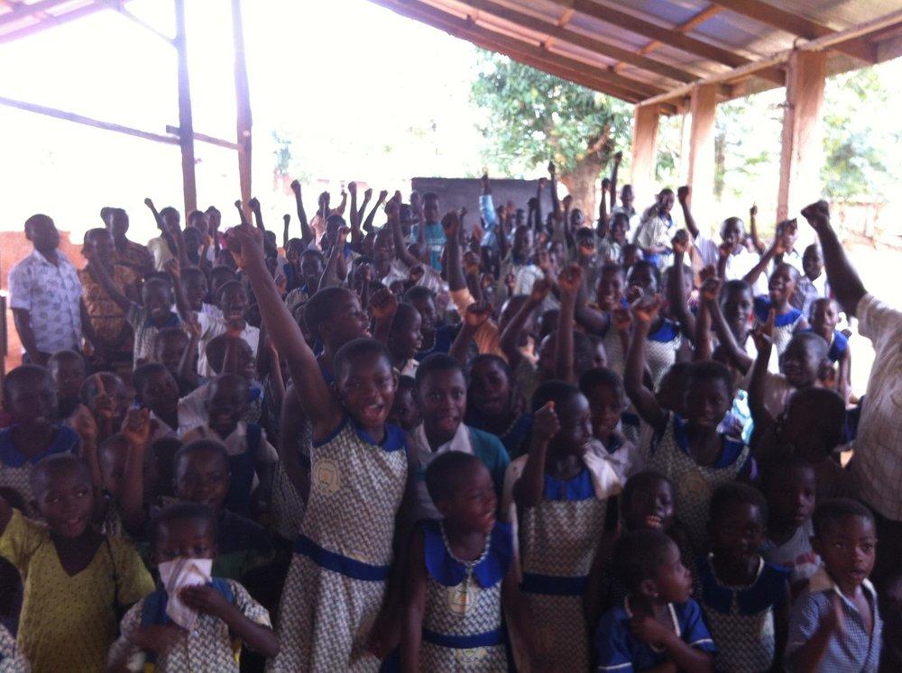 LEAP for ghana timber nkwanta students