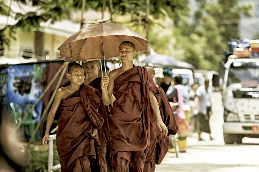 Monks at Market 2.JPG