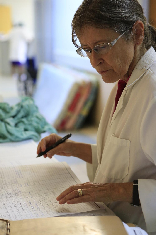 Nurse Audrey Henderson