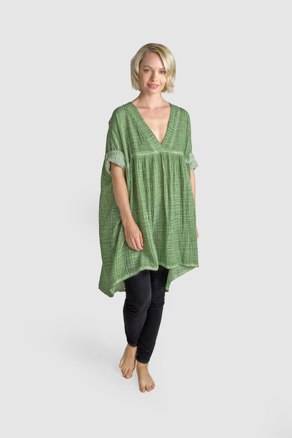 Copy of Elia Tunic Seagreen