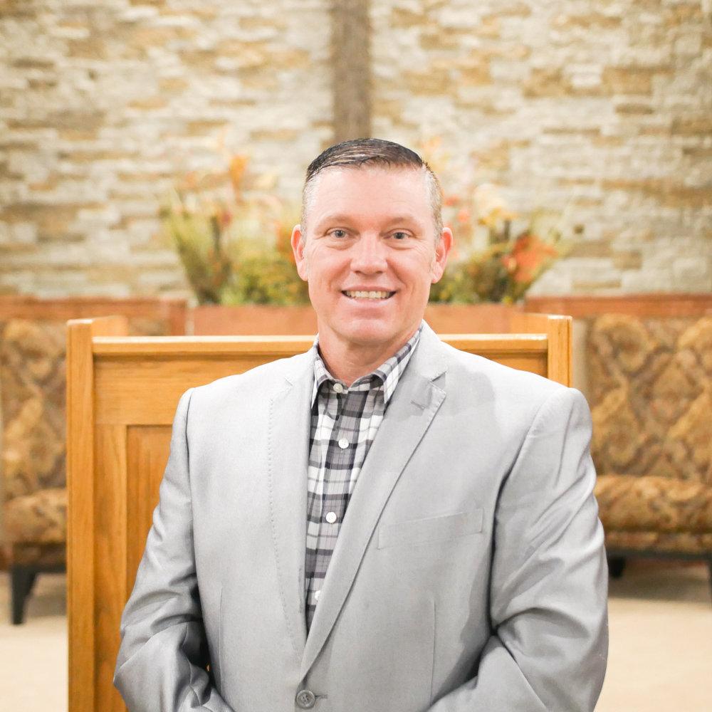 Pastor Zane Brooks - Senior Pastor