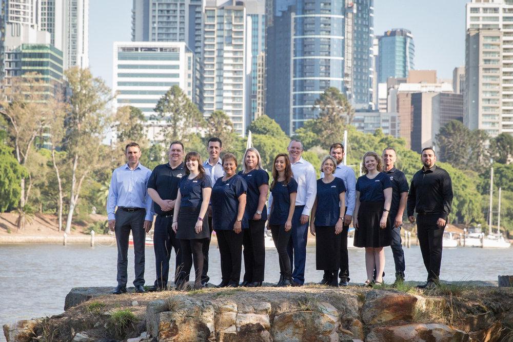 brisbane team portrait