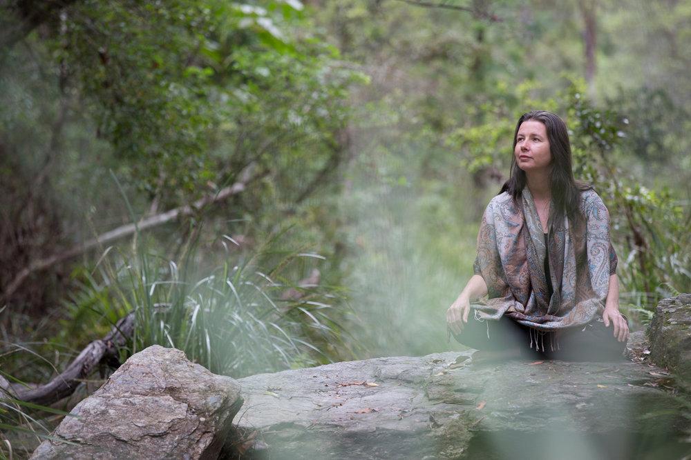 meditation portrait