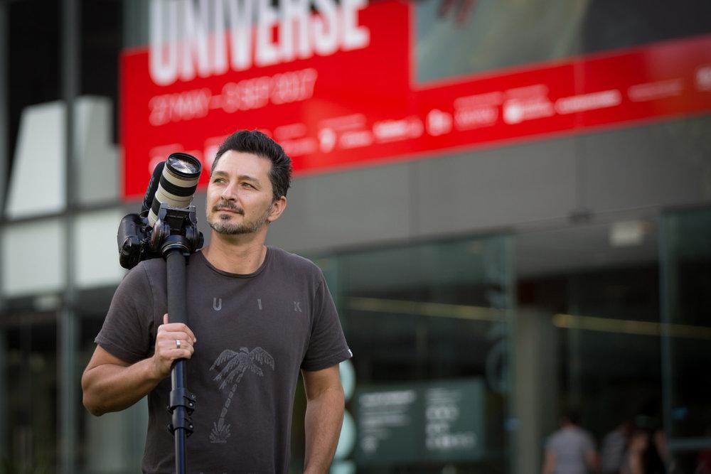 portrait of videographer