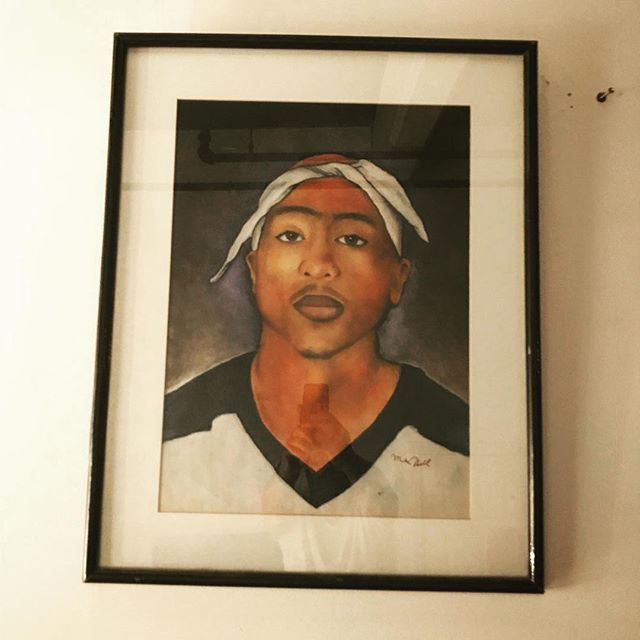 Nothing more perfect after day drinking Chablis and grilling dogs. Mad props @mike__hill #respect #californiaknowshowtoparty #portrait_perfection #tupac #saturdaynight #daydrinking