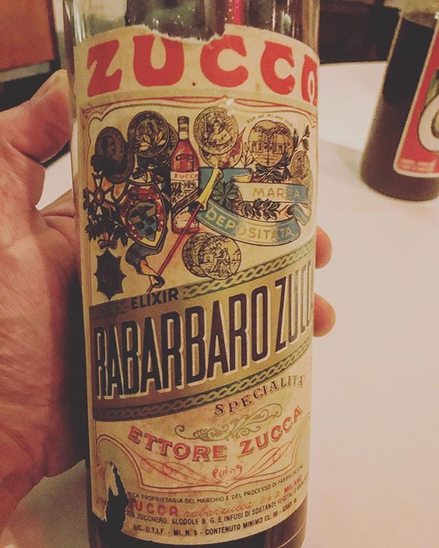 Get the fuck out of here - in Amaro heaven tasting this early 1960's Zucca Rabarbaro @dovetailny. For an ex-Fernet junkie it doesn't get better than this. #amaro #digestif #amaroporn #italiansdoitbetter #slowfood #michelinstarfood #vintagebooze