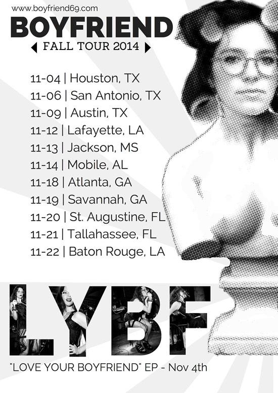 Boyfriend69 2014 Tour