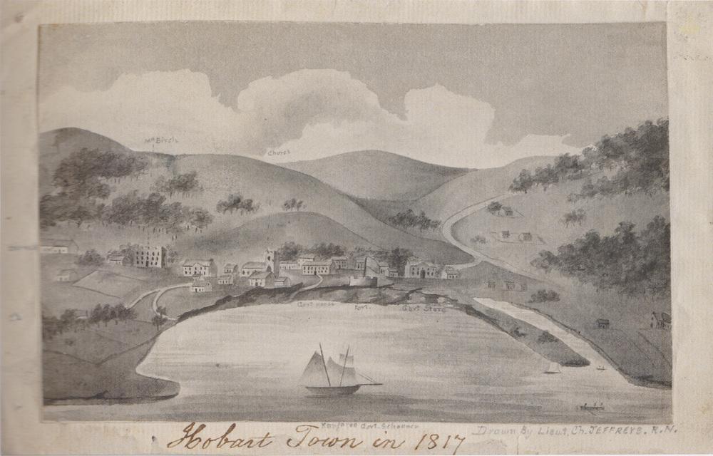 Hobart Town in 1817 – Charles Jeffreys