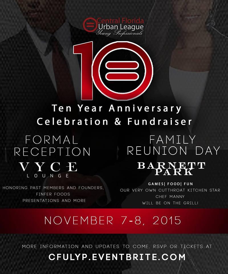 Central Florida Urban League 10 Anniversary Celebration and Fundraiser