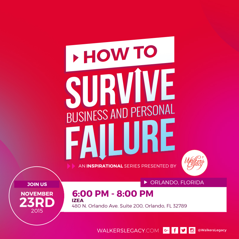 how to survive business and personal failure
