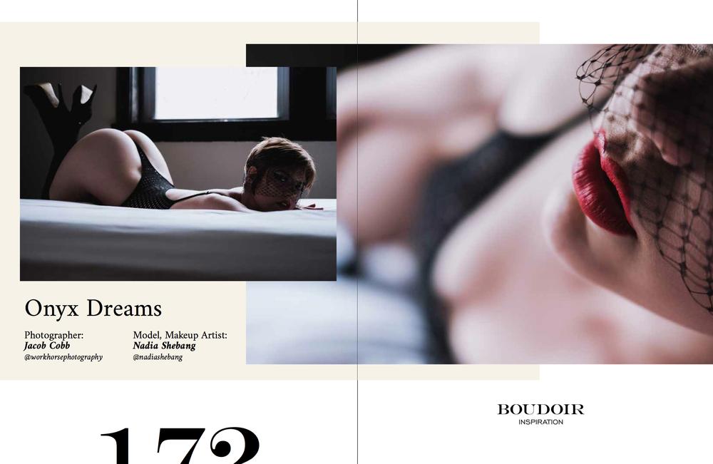 Onyx Dreams-Boudoir Inspiration Magazine2018 Special Issue V.2 -
