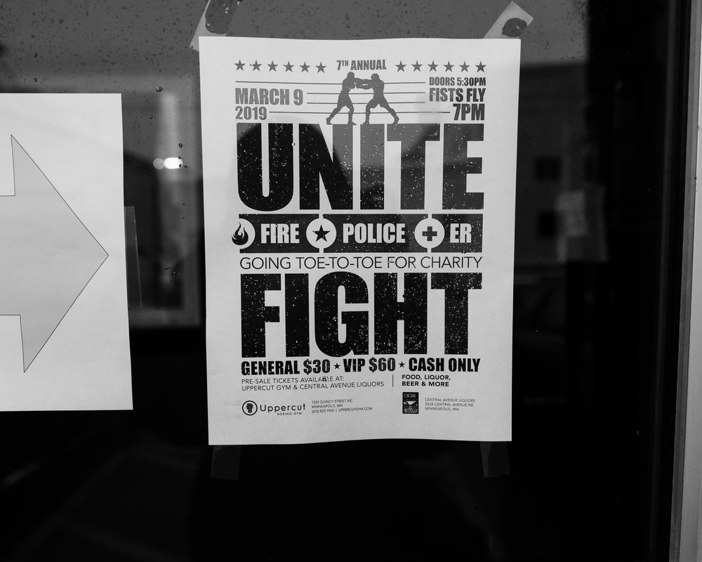 Unite + Fight Uppercut boxing gym March 9th 2019