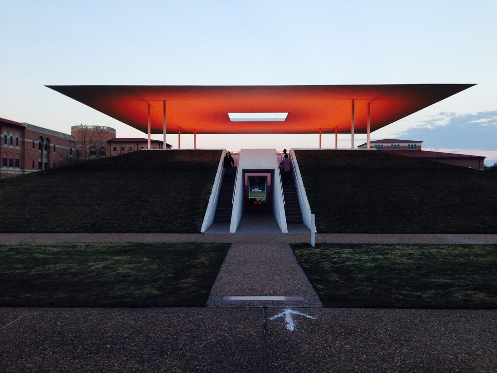 James Turrell exhibition, Rice University