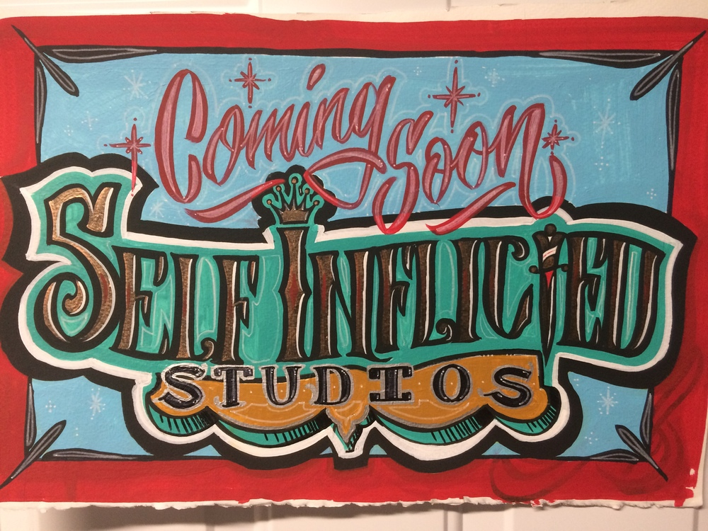 Self Inflicted Studios second location coming soon in St. Peter's MO.! Stay tuned for details.