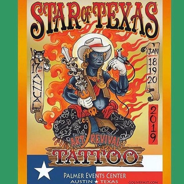 Ill be back in Austin, Texas to work one of my favorite conventions @star_of_texas january 18-20. Gonna be hangin all weekend with @dustin_niswonger @devon_sic @middleton_tattoo_art @georgezabala @jeffrey_gh_sic Let me know if you would like to get tattooed! #staroftexastattooartrevival #austintattooconvention #austintattoo