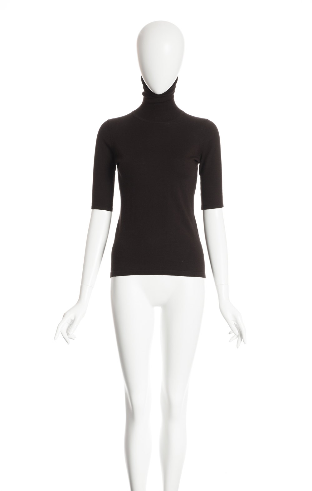 LUCINDA - Pull col roulé manches coude - 240 $
