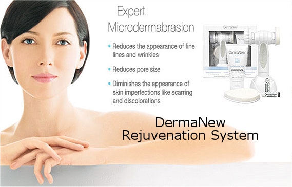The New DermaNew Microdermabrasion rejuvenation system