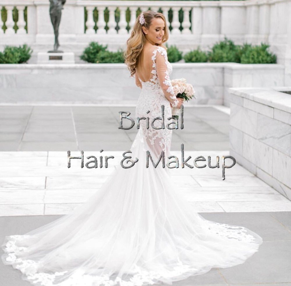 Bridal & special events - It would be an honor to be a part of your special day. Available In-Studio or On-Location for Bridal hair & makeup