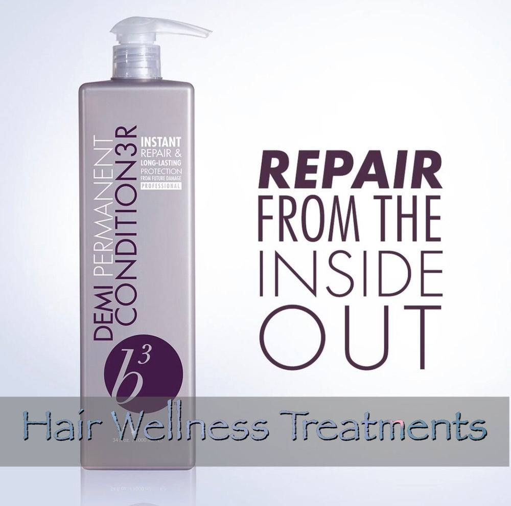 hair wellness treatments - Treat your overstressed hair with a wellness treatment for ultimate moisture and shine with a luxurious scalp massage