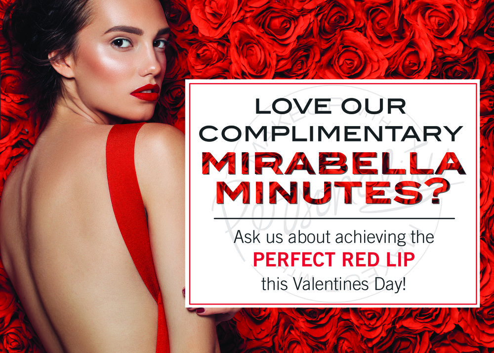 mirabella minute - Book your Mirabella minute and explore whats new and tips and tricks with Mirabella makeup