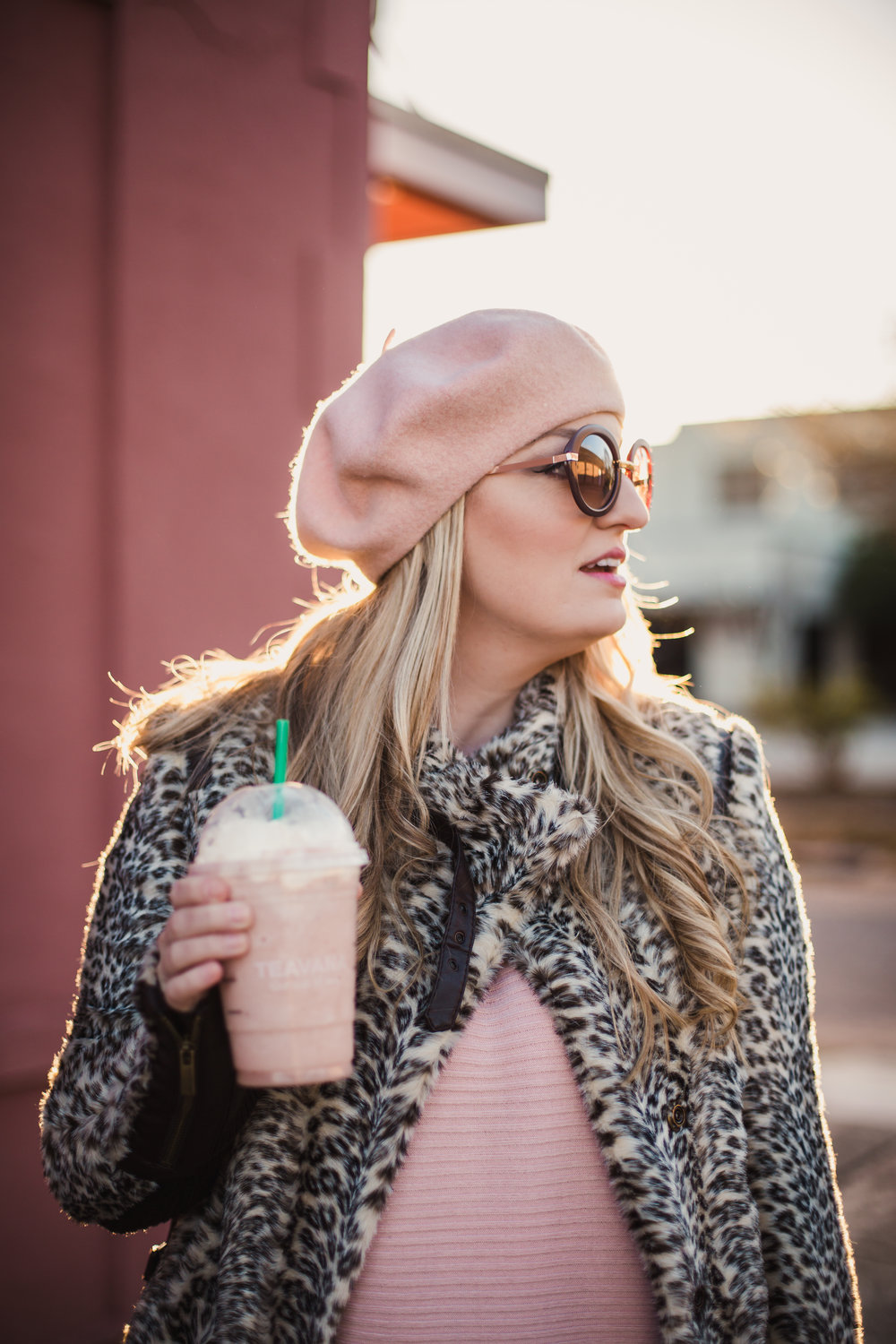 Blonde Ambition Southern Tradition. Starbucks Strawberry Frap.