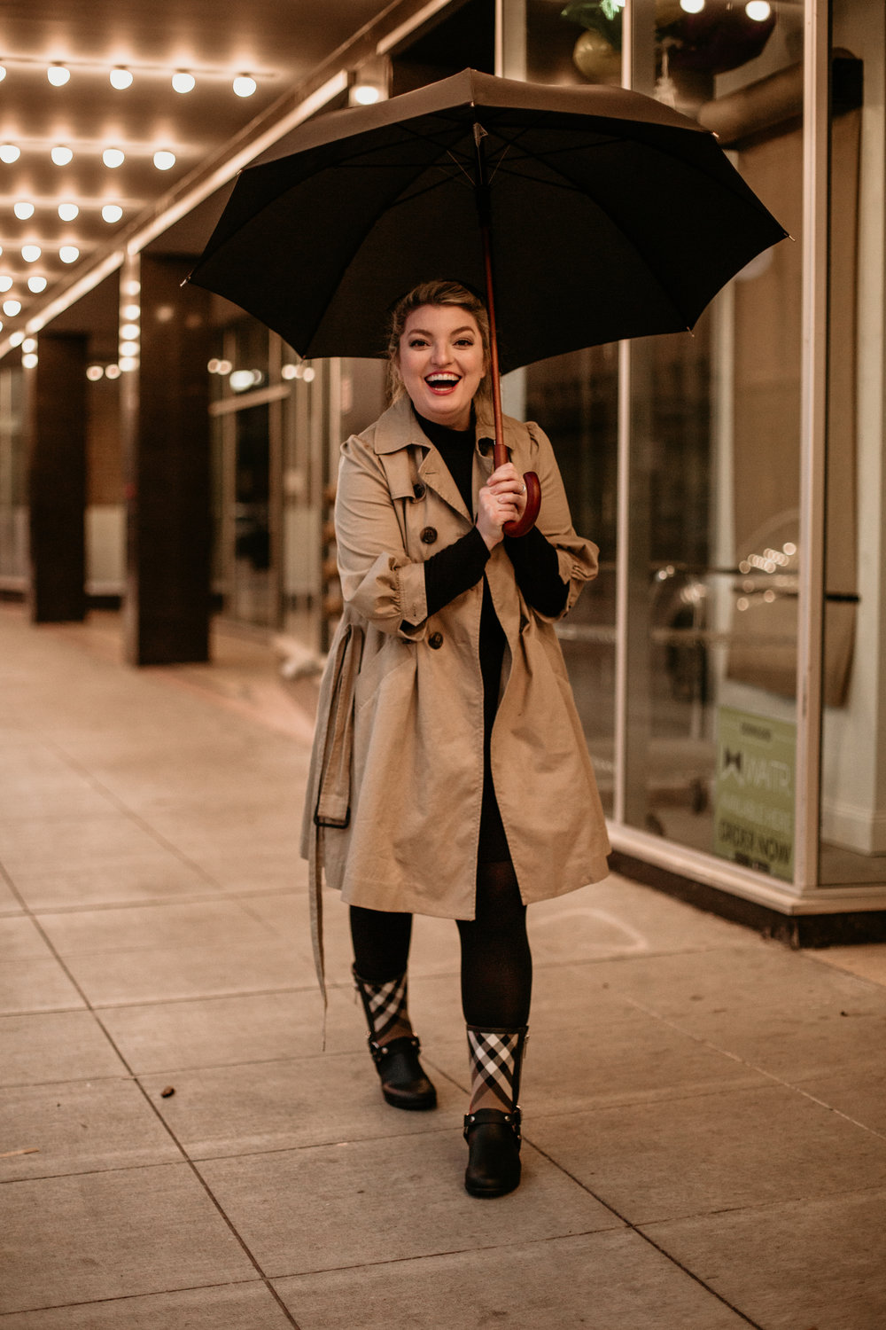 burberry fashion, how to style, how to style boots, how to style rain boots