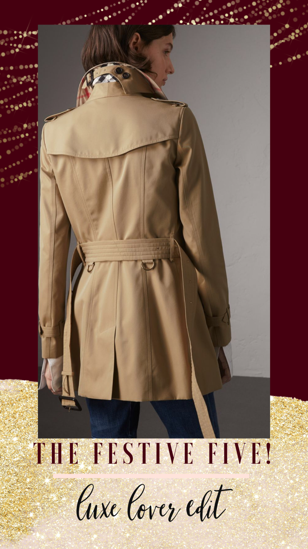 christmas gifts, Gift guides, Burberry Trench coat