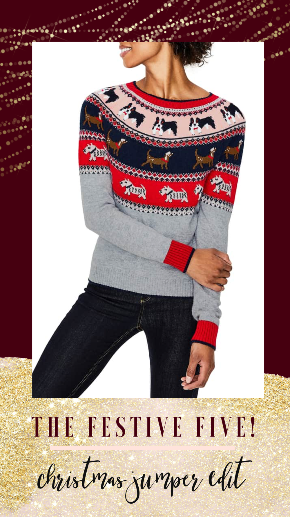 christmas sweater, christmas jumper, gift guide
