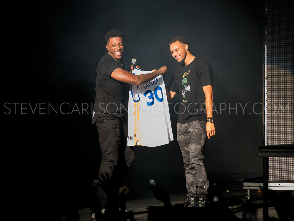 Lecrae and Stephen Curry