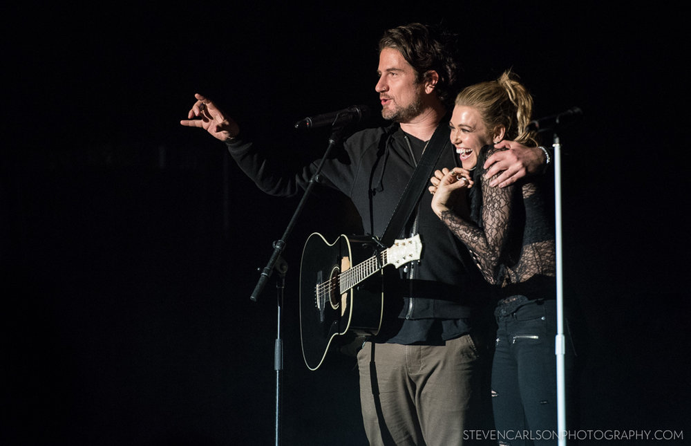 Rachel Platten and Matt Nathanson