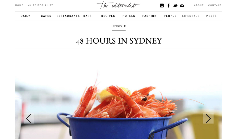 48 Hours in Sydney with izi and jonny of the editorialist for mercedes-benz
