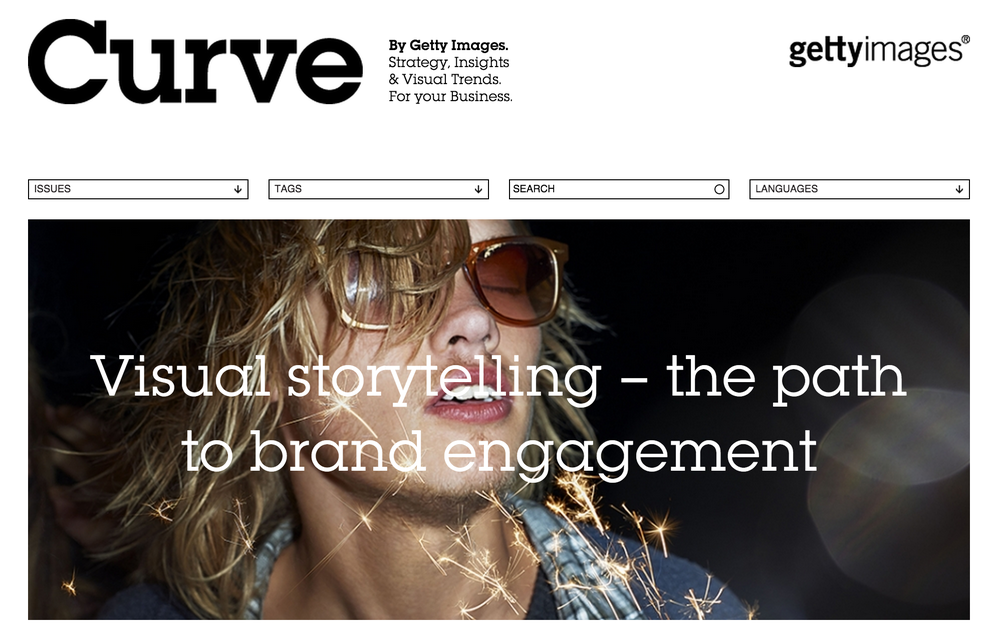 Article i was asked to contribute to curve magazine about storytelling for brands